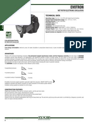 DAB Evotron 60//180/x Bomba electr/ónico 2