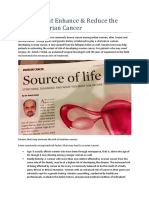 DR.AMISH DALAL ON FACTORS THAT ENHANCES & REDUCES THE RISK OF OVARIAN CANCER