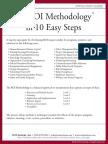 The ROI Methodology in 10 Easy Steps