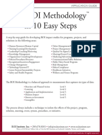 The ROI Methodology in 10 Easy Steps