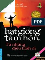 Hạt Giống Tâm Hồn - Tập 4 - Từ Những Điều Bình Dị pdf