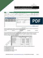 Excel 2016 - questões de concursos comentadas para Escrevente TJ SP 2017