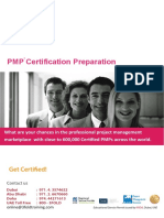 PMP Certification Preparation Program