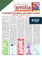 EL AMIGO DE LA FAMILIA, 9 abril 2017.