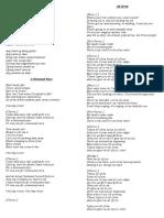 WEDDING SONGS.docx