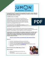 Franquicia Kumon | Programas de Matematicas y Lectura