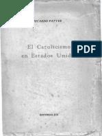 El Catolicismo en Estados Unidos - Ricardo Pattee