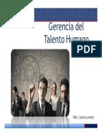 Gerencia de Talento Humano [Modo de Compatibilidad]