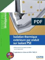 Bertrand Ruot Isolation thermique extérieure par enduit sur isolant PSE  Mise en oeuvre sur parois en béton ou en maçonnerie.pdf