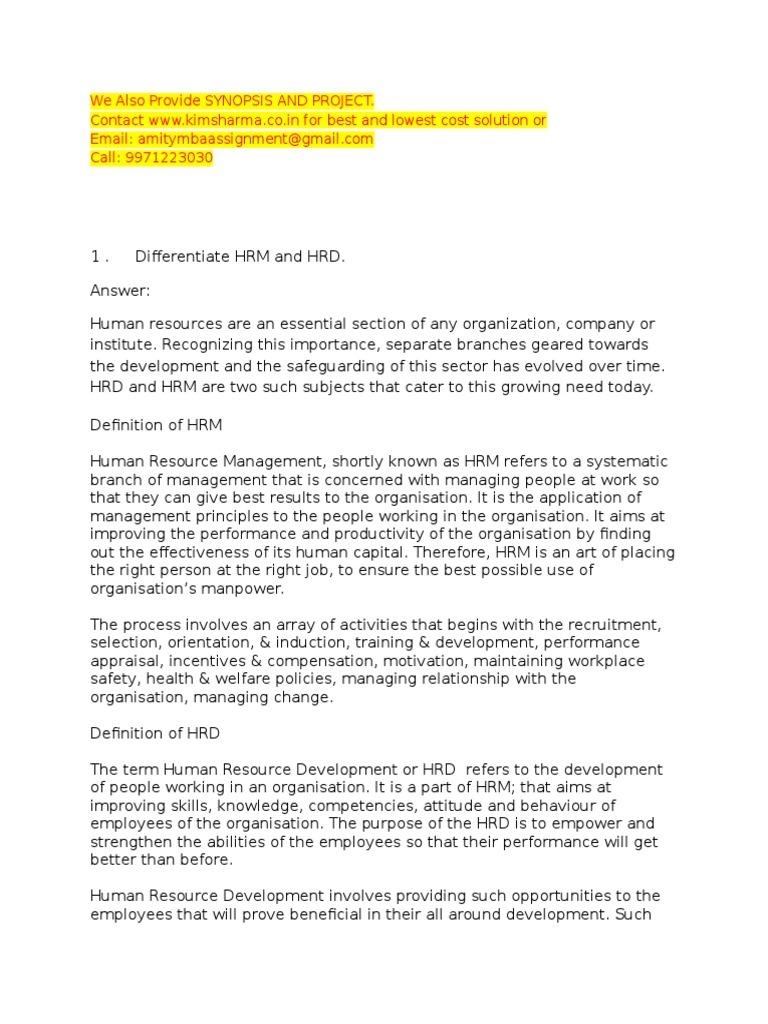 recruitment selection notes