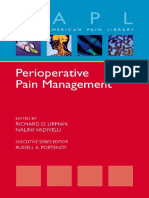 Oxford Perioperative Pain Management 2013