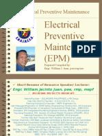 Elec Preventive Maint 2015.ppt