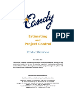 Estimating and Project Control Complete Overview