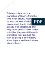 marketing strategies of Olper's.....