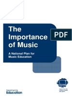 The Importance of Music - A National Plan for Music