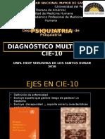 Cie10 Dx Multiaxial