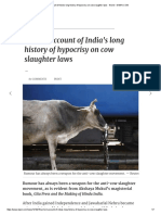A Short Account of India's Long History of Hypocrisy on Cow Slaughter Laws - World - DAWN