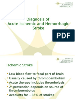Diagnosis of Acute Ischemic and Hemorrhagic Stroke