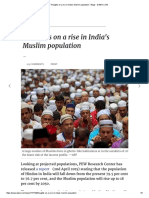 Thoughts on a Rise in India's Muslim Population - Blogs - DAWN