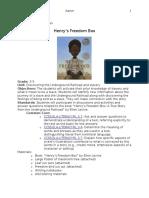 henrys freedom box lesson plan