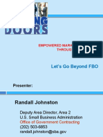 Empowered Market Research Through FPDPS DSBS
