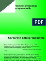 Corporate Entrepreneurship Ppt
