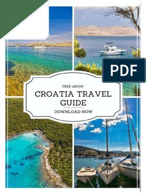 Croatia Travel Guide.pdf | Services (Economics) | Service Industries