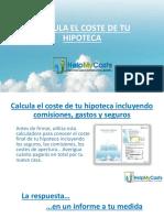 Calcula el coste de tu hipoteca - HelpMyCash.com
