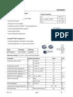Infineon SPP04N80C3 DS v02 91 En