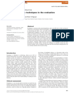 Current and Future Techniques in the Evaluation of Dysphagia