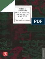 Mitos y Leyen de Los Aztec-Incas y Muiscas