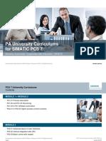 PCS7 HS Training Curriculums P03 V8.1 S0915 En