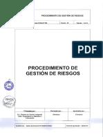 20-00 PROCEDIMIENTO N 020 - PROCEDIMIENTO DE GESTION DE RIESGOS.pdf