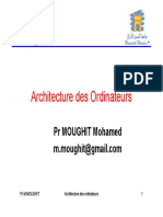 Architecture Des Ordinateur s