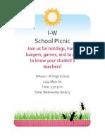 parent picnic
