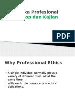 Etika Profesional (Skop dan Kajian)