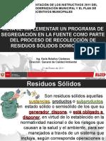 Programa Segregacion en La Fuente