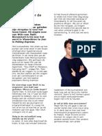 Interview Rik Van de Westelaken