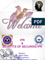 Manju Benefits of Securing IPR