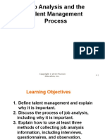 Chapter 4 Job Analysis and the Talent Management Process
