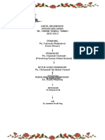 Carta Organisasi Kelab Sc 2012