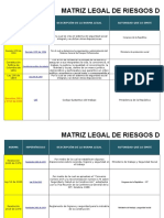 Matriz Legal Construcción Página ARL