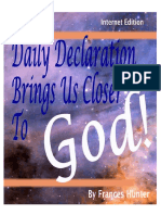 Frances Hunter a Daily Declaration Brings Us Closer to God