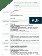 Preliminary Itinerary - 17 Bonaventure 01