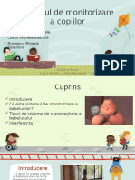 Sistemul de Monitorizare Bebe