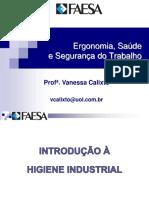2016-03-14 - Introdução à Higiene Industrial