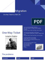 one way ticket-  great migration