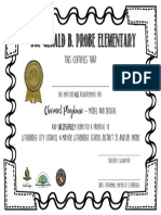 charmed playhouses- certificate of completion  geometry