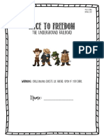race to freedom- research project final copy