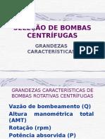 Selecao Bombas